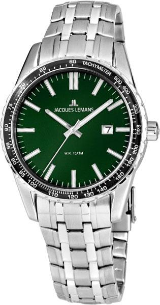 1-2022K  мужские кварцевые наручные часы Jacques Lemans  1-2022K