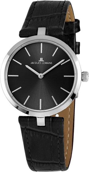 1-2024A  кварцевые наручные часы Jacques Lemans для женщин  1-2024A