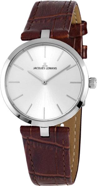 1-2024B  кварцевые наручные часы Jacques Lemans для женщин  1-2024B