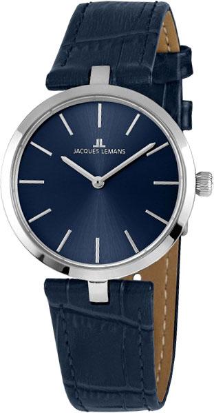 1-2024C  кварцевые наручные часы Jacques Lemans для женщин  1-2024C