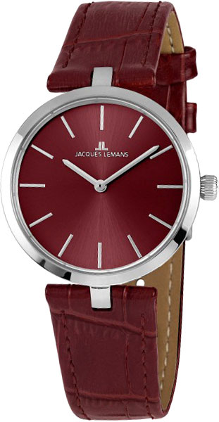 1-2024D  женские кварцевые наручные часы Jacques Lemans  1-2024D