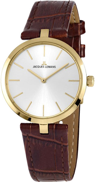 1-2024F  кварцевые наручные часы Jacques Lemans для женщин  1-2024F