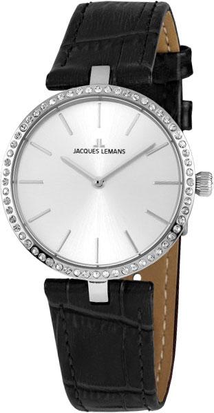 1-2024H  кварцевые наручные часы Jacques Lemans для женщин  1-2024H