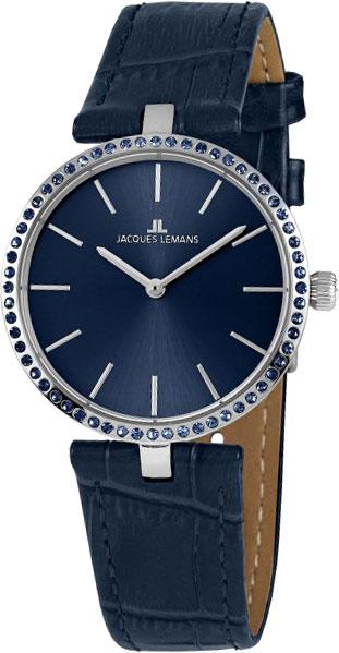 1-2024i  женские кварцевые наручные часы Jacques Lemans  1-2024i