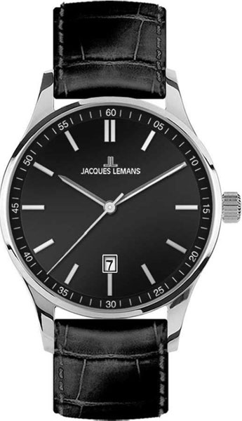 1-2026A  кварцевые наручные часы Jacques Lemans для мужчин  1-2026A