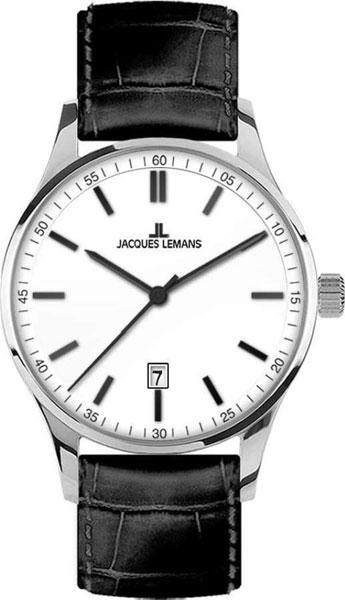 1-2026B  кварцевые наручные часы Jacques Lemans для мужчин  1-2026B