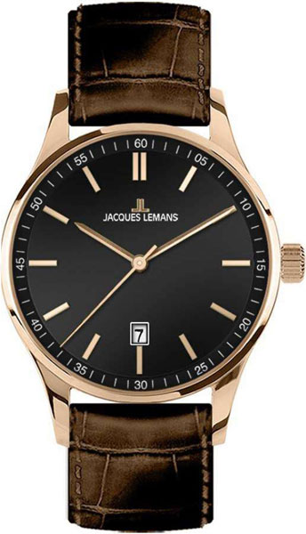 1-2026D  кварцевые наручные часы Jacques Lemans  1-2026D