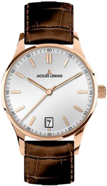 1-2026E  кварцевые наручные часы Jacques Lemans для мужчин  1-2026E