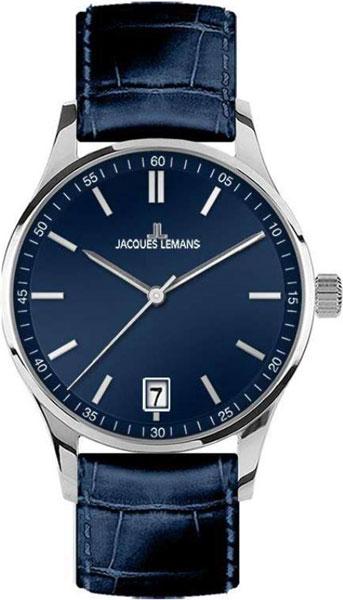1-2027C  кварцевые наручные часы Jacques Lemans  1-2027C