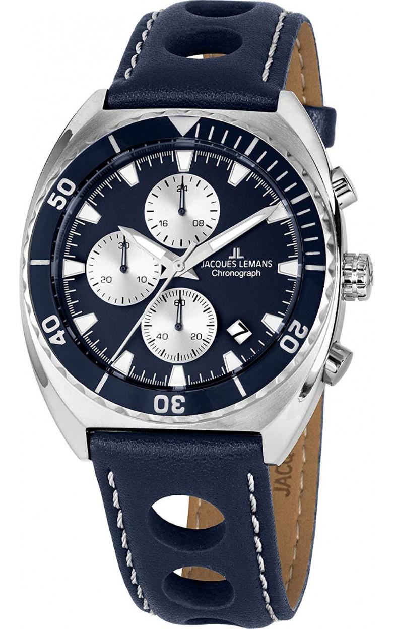 1-2041C  кварцевые наручные часы Jacques Lemans для мужчин  1-2041C