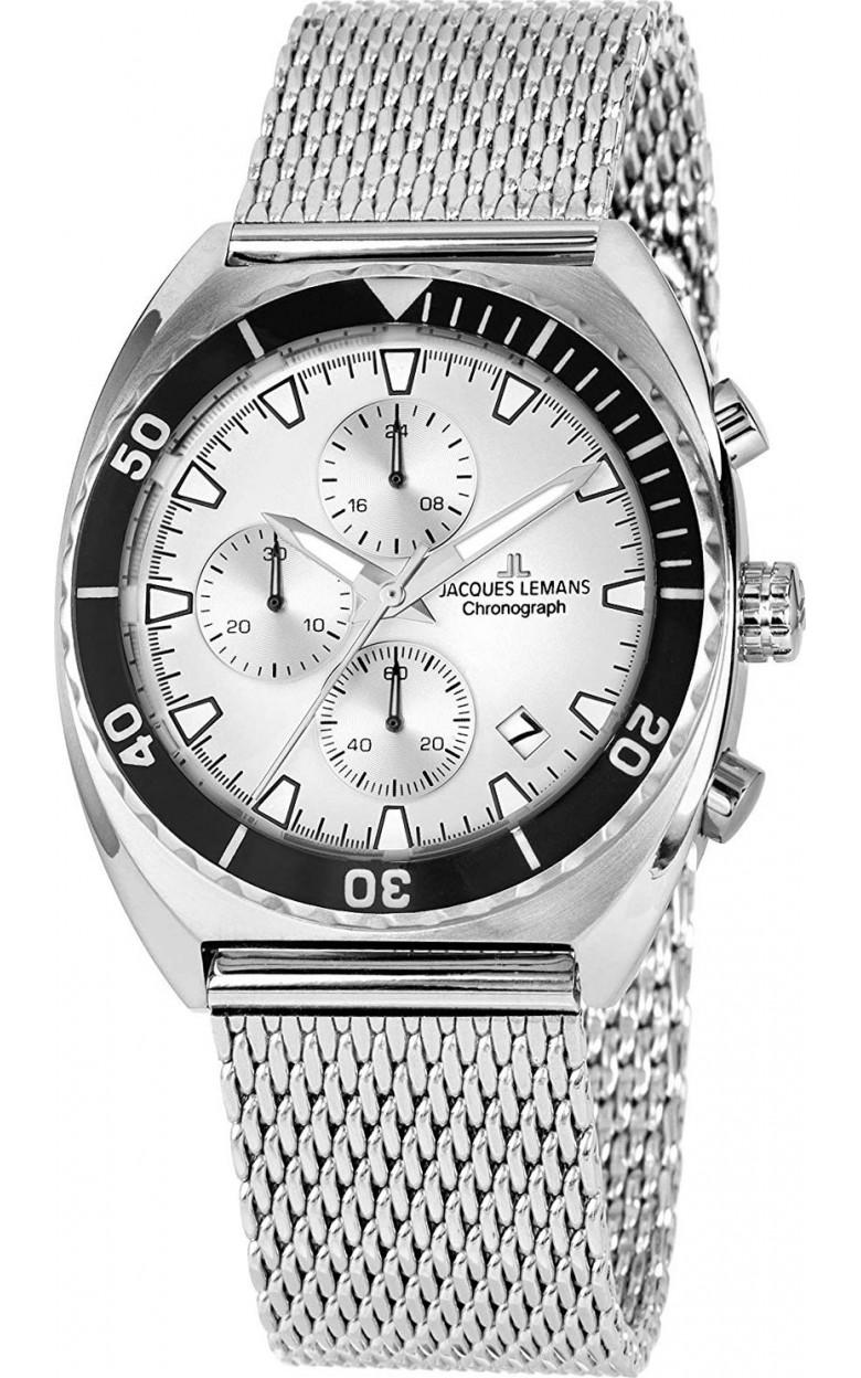 1-2041F  кварцевые наручные часы Jacques Lemans для мужчин  1-2041F
