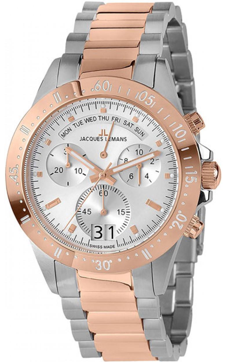 40-10B  кварцевые наручные часы Jacques Lemans  40-10B