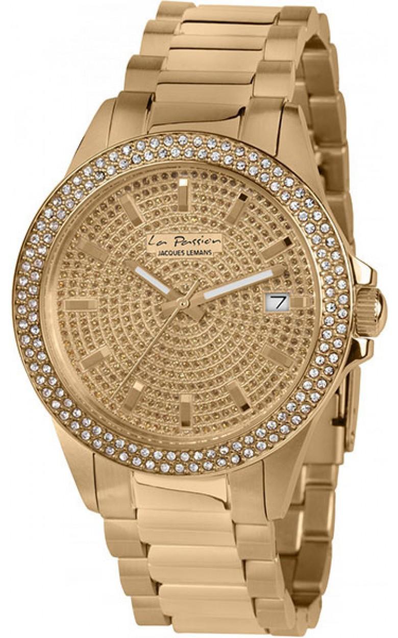 LP-129C  кварцевые наручные часы Jacques Lemans для женщин  LP-129C