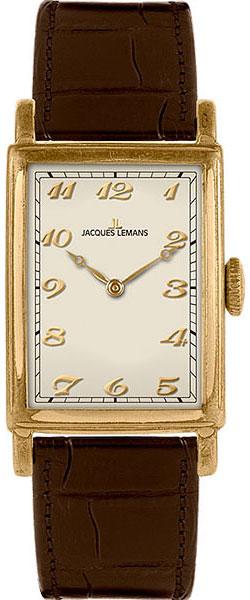 "N-202B  мужские кварцевые наручные часы Jacques Lemans ""Nostalgie""  N-202B"