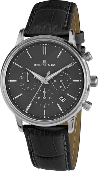 """N-209P  кварцевые наручные часы Jacques Lemans """"Nostalgie"""" для мужчин  N-209P"""