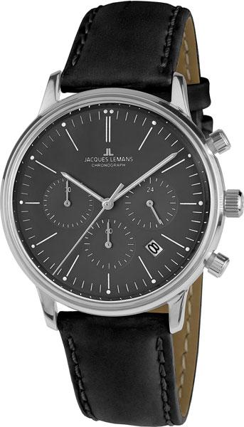 "N-209ZA  унисекс кварцевые часы Jacques Lemans ""Nostalgie""  N-209ZA"
