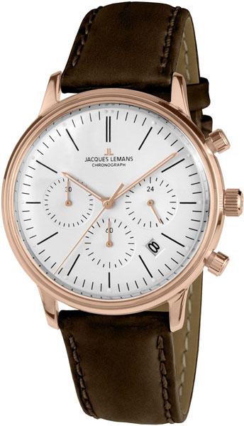 "N-209ZD  кварцевые часы Jacques Lemans ""Nostalgie""  N-209ZD"