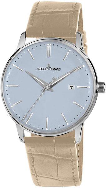 """N-213D  кварцевые наручные часы Jacques Lemans """"Nostalgie"""" для мужчин  N-213D"""