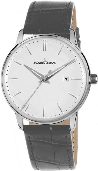"""N-213Q  кварцевые наручные часы Jacques Lemans """"Nostalgie"""" для мужчин  N-213Q"""