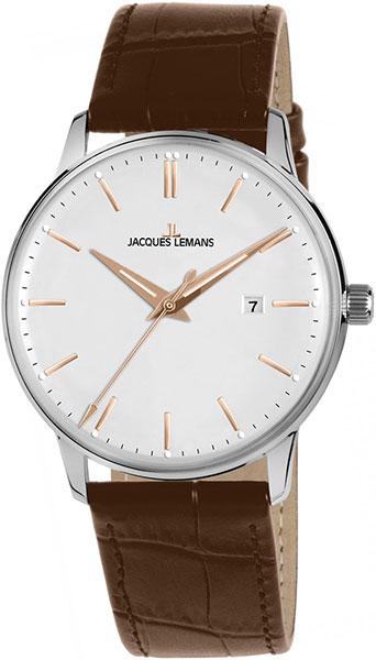 """N-213R  кварцевые наручные часы Jacques Lemans """"Nostalgie""""  N-213R"""