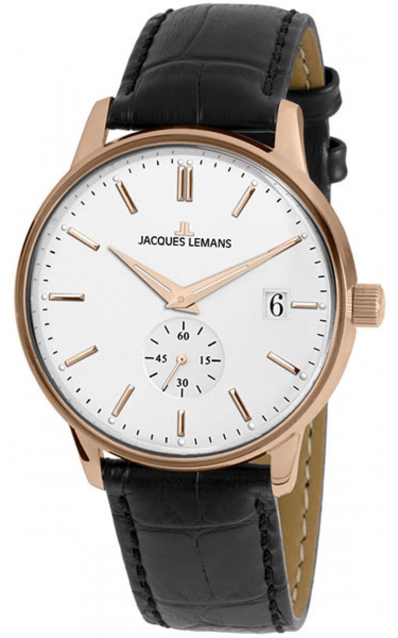 """N-215B  кварцевые наручные часы Jacques Lemans """"Nostalgie""""  N-215B"""