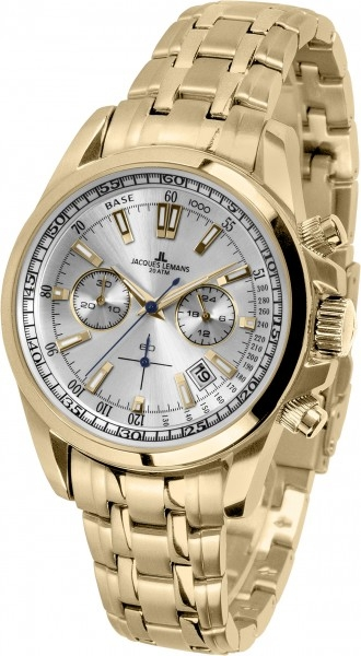 1-1117LN  водонепроницаемые кварцевые наручные часы Jacques Lemans для мужчин  1-1117LN