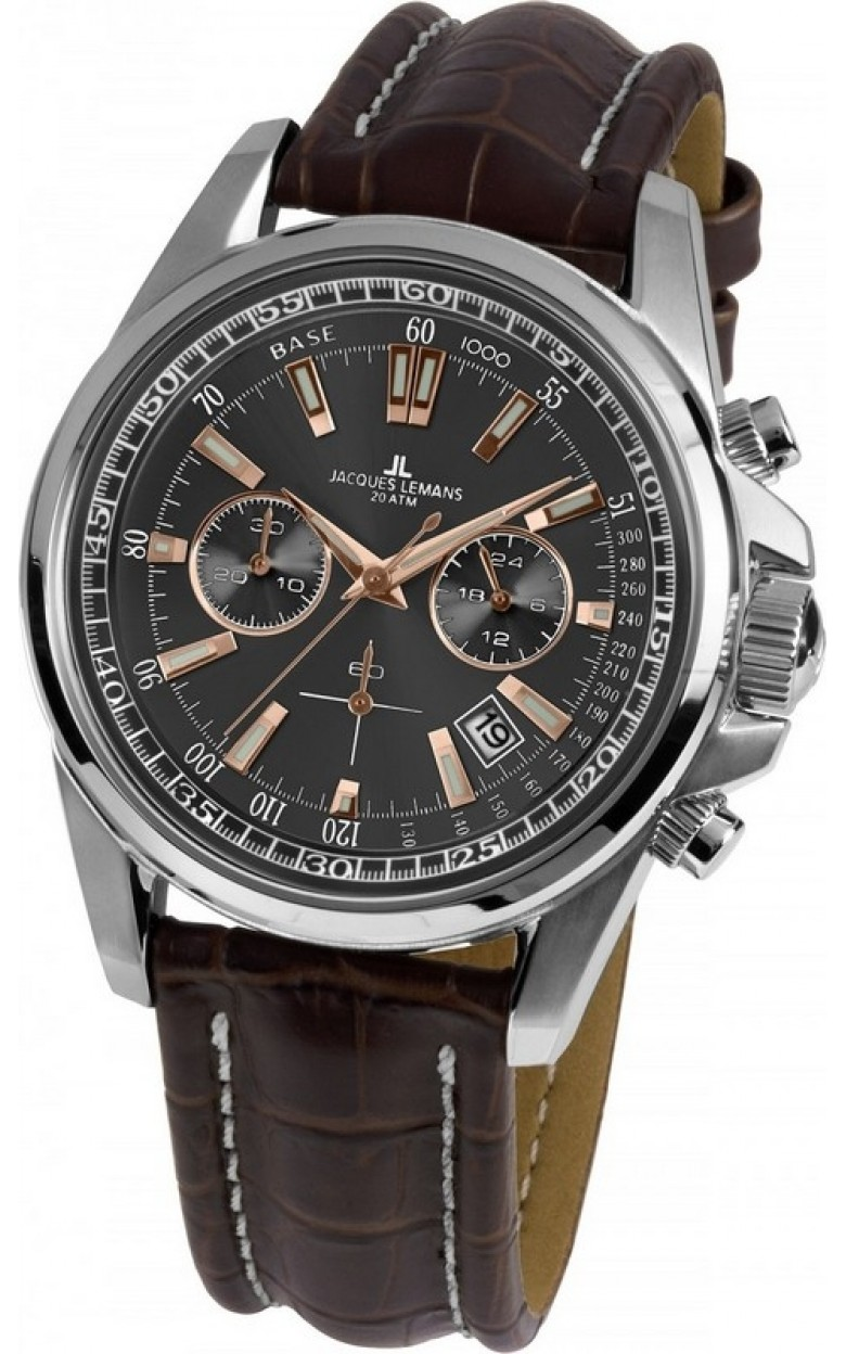 1-1117WN  кварцевые часы Jacques Lemans  1-1117WN