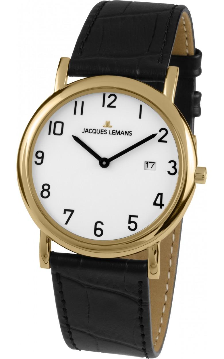 1-1370F  кварцевые наручные часы Jacques Lemans для мужчин  1-1370F