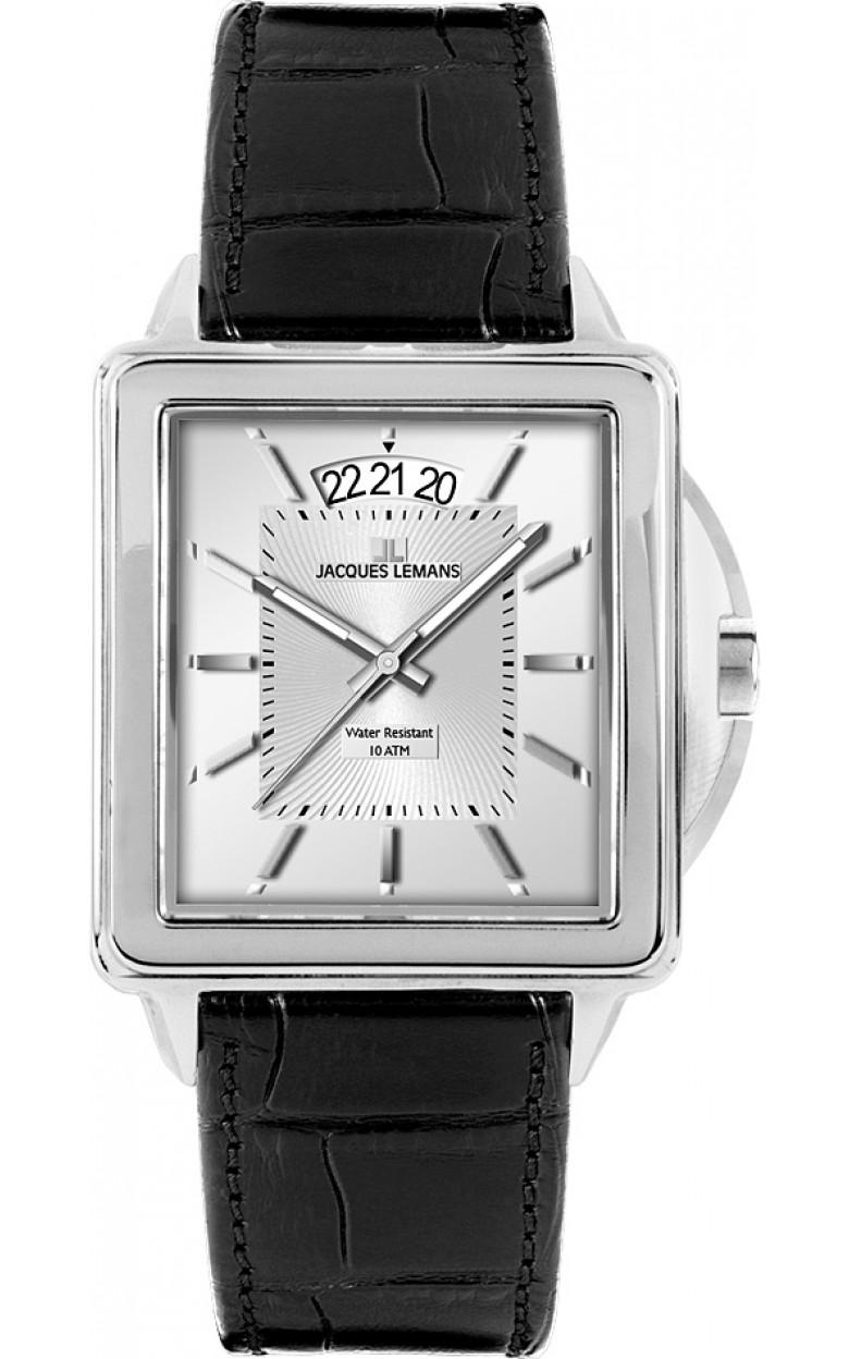 1-1537B  мужские кварцевые наручные часы Jacques Lemans  1-1537B