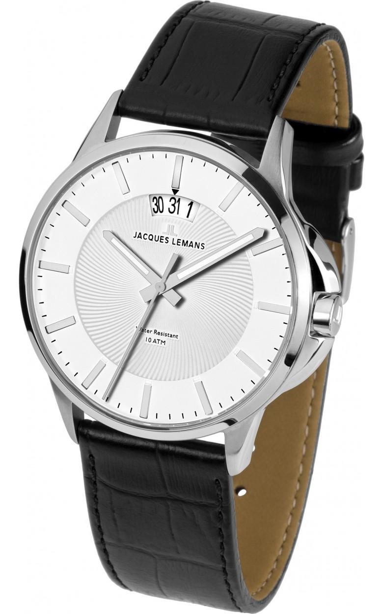 1-1540B  мужские кварцевые наручные часы Jacques Lemans  1-1540B