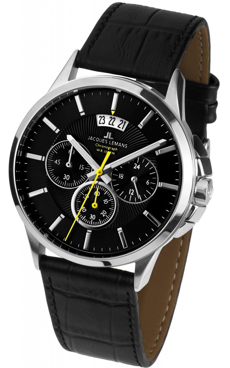 1-1542A  кварцевые наручные часы Jacques Lemans для мужчин  1-1542A