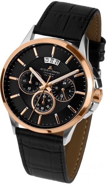 1-1542C  мужские кварцевые наручные часы Jacques Lemans  1-1542C
