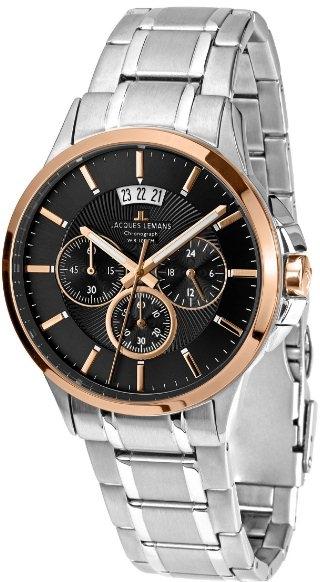 1-1542J  кварцевые наручные часы Jacques Lemans для мужчин  1-1542J