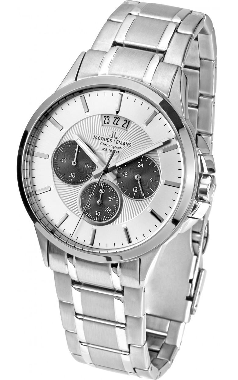 1-1542M  кварцевые наручные часы Jacques Lemans для мужчин  1-1542M