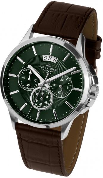 1-1542O  кварцевые наручные часы Jacques Lemans для мужчин  1-1542O