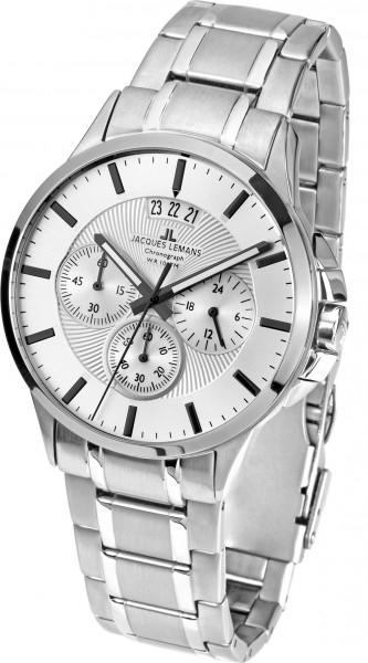 """1-1542P  кварцевые наручные часы Jacques Lemans """"Classic""""  1-1542P"""