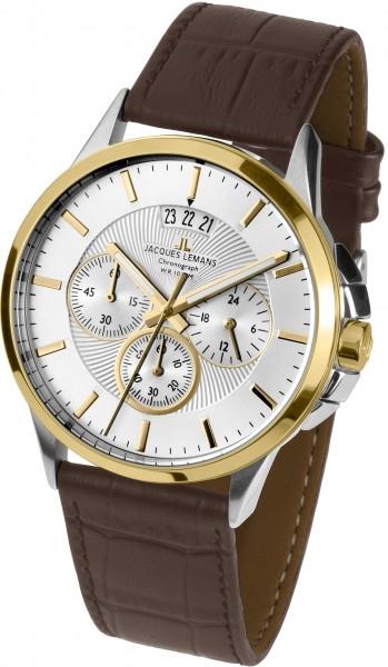 1-1542R  кварцевые наручные часы Jacques Lemans для мужчин  1-1542R