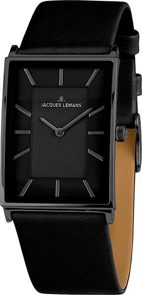 1-1604C  кварцевые наручные часы Jacques Lemans для женщин с сапфировым стеклом 1-1604C