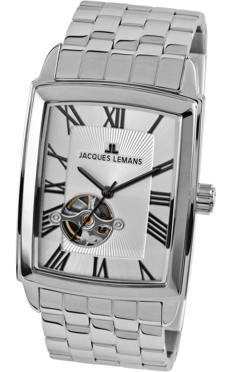 1-1610G  механические наручные часы Jacques Lemans для мужчин  1-1610G