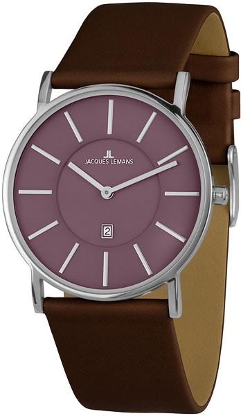 """1-1620J  кварцевые наручные часы Jacques Lemans """"Classic""""  1-1620J"""