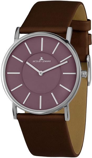 1-1621J  кварцевые наручные часы Jacques Lemans для женщин с упрочненным стеклом 1-1621J