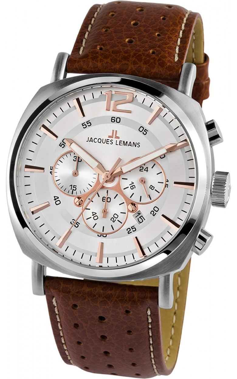 1-1645D  кварцевые наручные часы Jacques Lemans для мужчин  1-1645D