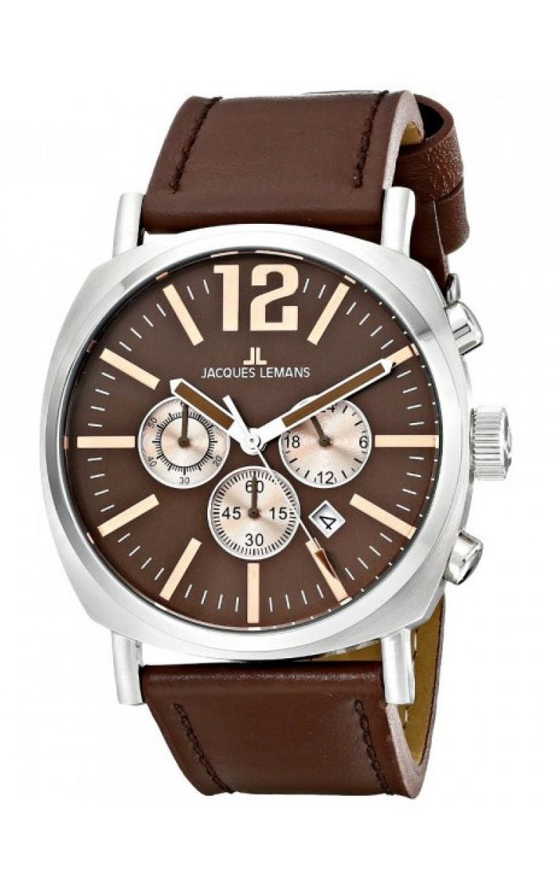 1-1645G  кварцевые наручные часы Jacques Lemans  1-1645G