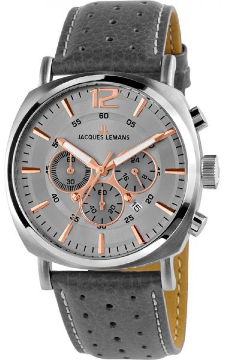 1-1645L  кварцевые наручные часы Jacques Lemans для мужчин  1-1645L