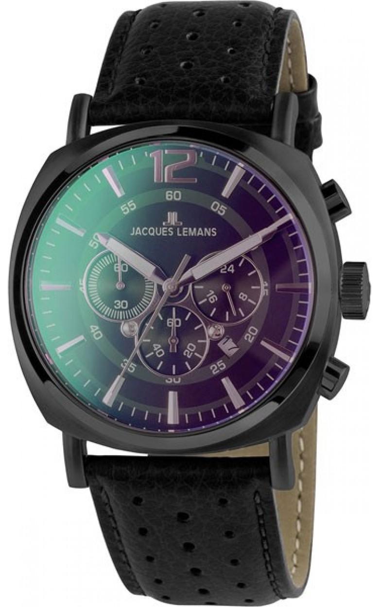 1-1645N  мужские кварцевые часы Jacques Lemans  1-1645N
