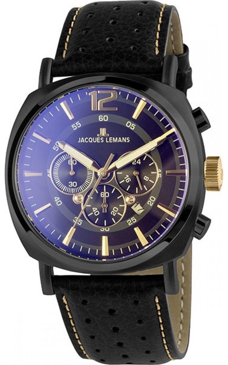 1-1645O  кварцевые наручные часы Jacques Lemans для мужчин  1-1645O