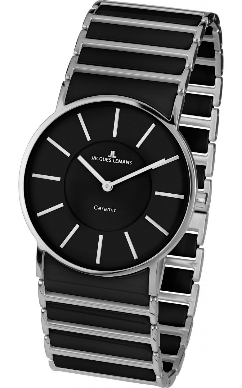 1-1649A  кварцевые наручные часы Jacques Lemans для женщин с сапфировым стеклом 1-1649A