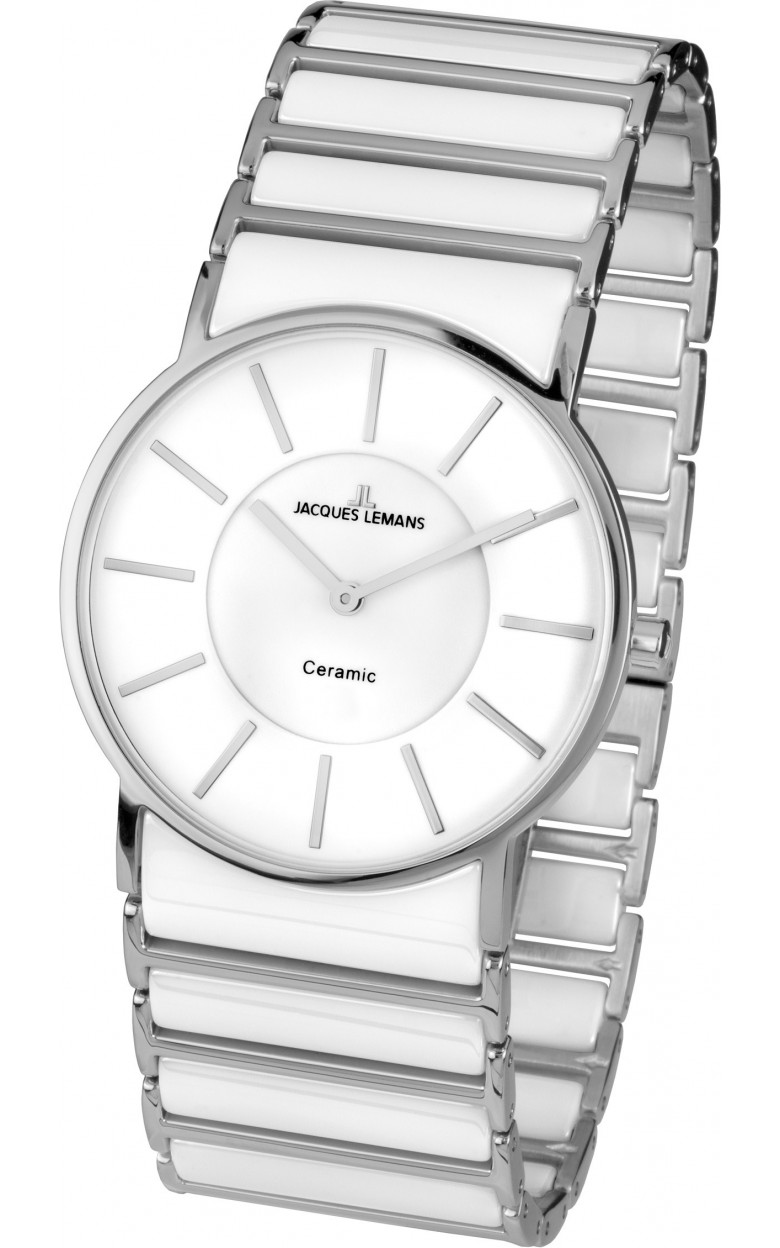 1-1649E  женские кварцевые наручные часы Jacques Lemans с сапфировым стеклом 1-1649E
