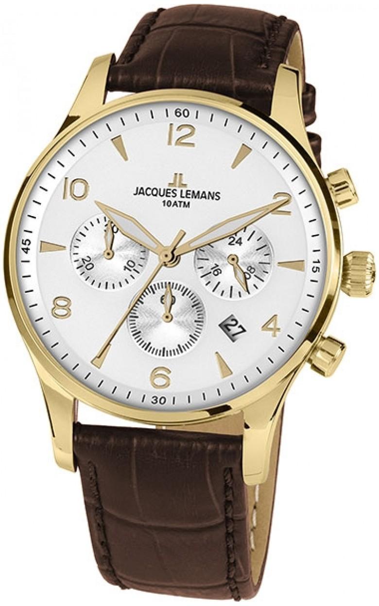 1-1654ZD  кварцевые наручные часы Jacques Lemans  1-1654ZD