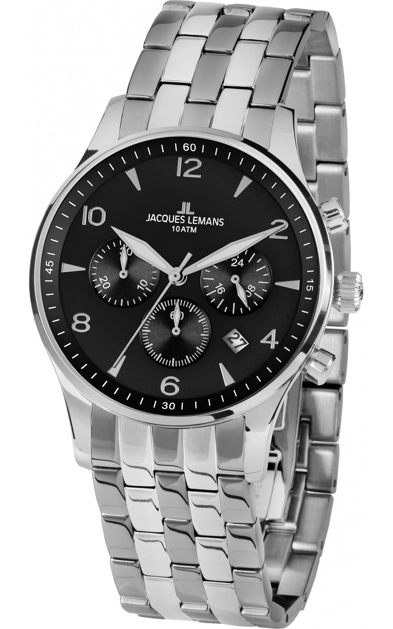 1-1654ZE  кварцевые наручные часы Jacques Lemans для мужчин  1-1654ZE